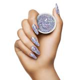 Light Elegance - In My Happy Place P+ Glitter Gel Polish Hand Swatch