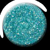Light Elegance - De-Ja-Blue Glitter Hard Gel Swatch