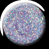 Light Elegance -  In My Happy Place Glitter Hard Gel Swatch