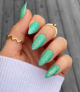 Lecente Fresh Grass Iridescent Glitter Nail Art