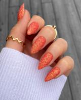 Lecente Carrot Iridescent Iridescent Glitter Nail Art