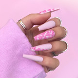 Lecente Create What in Carnation? Nail Art