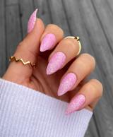 Lecente Crocus Iridescent Glitter Nail Art