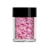 Lecente Blush Pink Iridescent Flakes