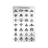 :YOURS The Ornaments Double Sided Stamping Plate 1