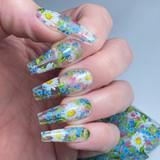Lecente Spring Floral Foil Collection Design