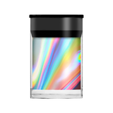 Lecente Silver Holographic Shimmer Film