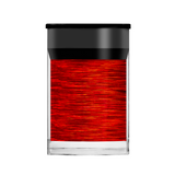 Lecente Red Holographic Lines Foil