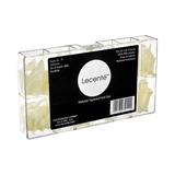 Lecenté Natural Tapered Nail Tips 550pcs
