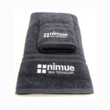 2 Nimue Medium Towels, 1 Large Towel + 1 Pull Up Banner