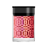 Lecente Pink Holographic Tartan Foil
