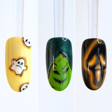 Halloween Nail Art with CND