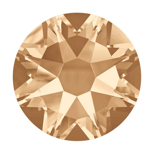 Swarovski Crystal SS9 (2.6mm) - Gold Shadow 200 pack