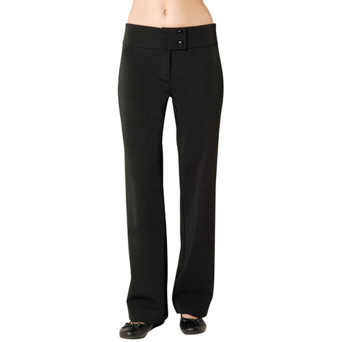 Fusion Black Trousers (Un-hemmed)