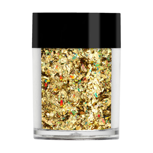 Gold Holographic Crushed Ice Glitter