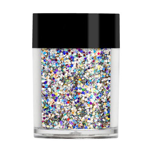 Silver Holographic Multi Glitz Glitter