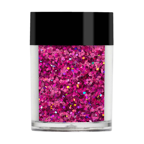 Sparkling Squares - Bright Pink
