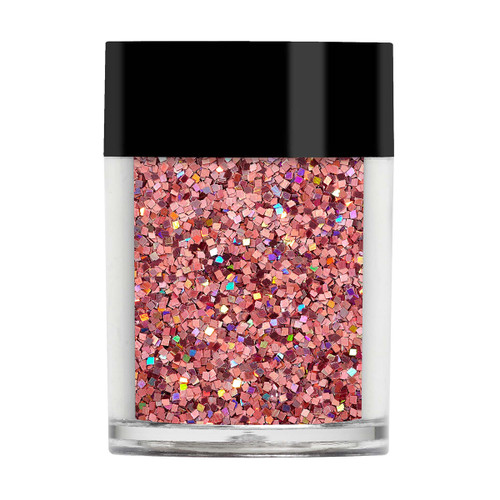 Sparkling Squares - Rose