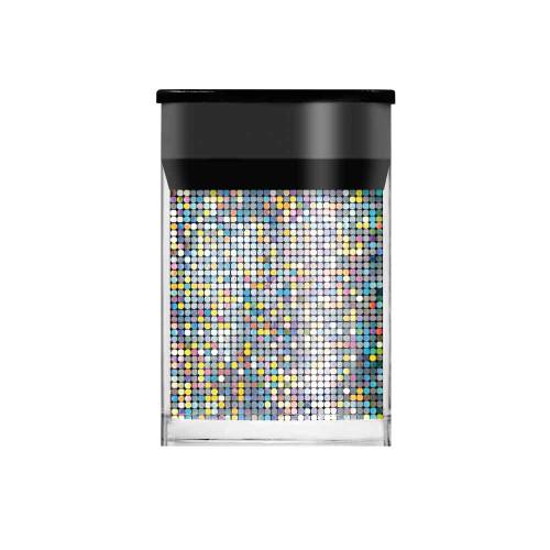 Silver Mosaic Nail Foil