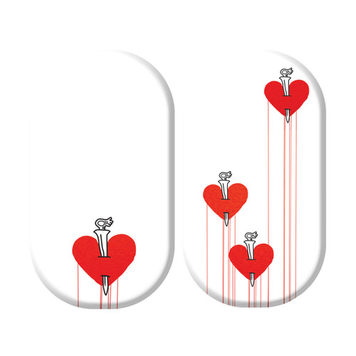 Heart - Haring (transparent)