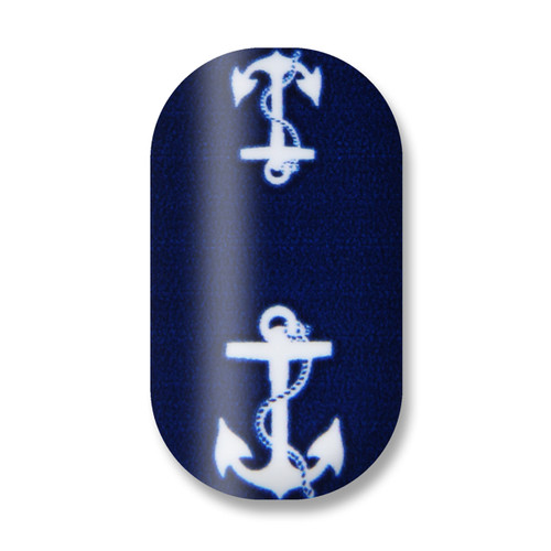 Don't Let Me Sink/Navy Blue/White Anchor
