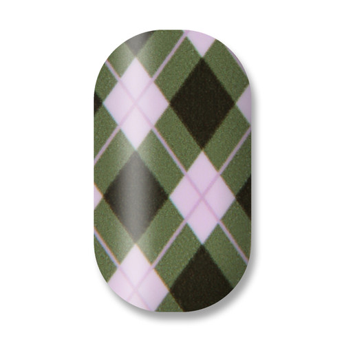 School's Out for Summer / Plaid (Pale Pink Green, Brown)