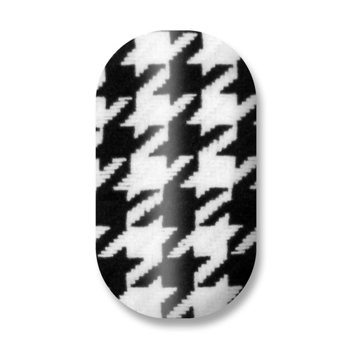 Ain't Nothin' but a Houndog / Houndstooth (Black/White)