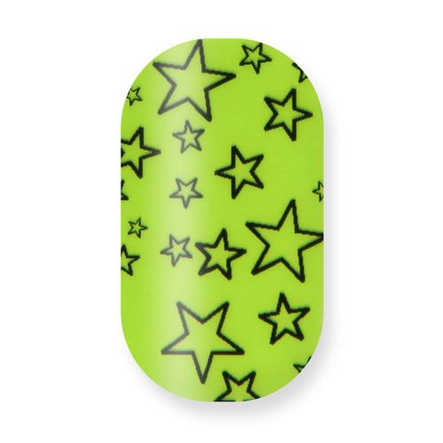 Green Stars (Transparent) - Remix