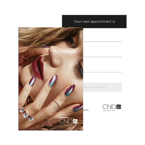 CND Appointment Cards (240 Pack, 2 designs)