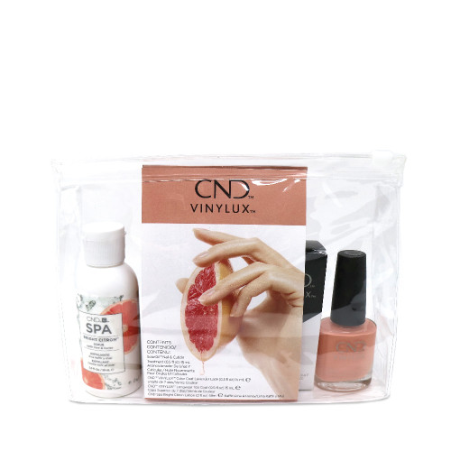 CND Vinylux Summer Travel Kit Bright Citron