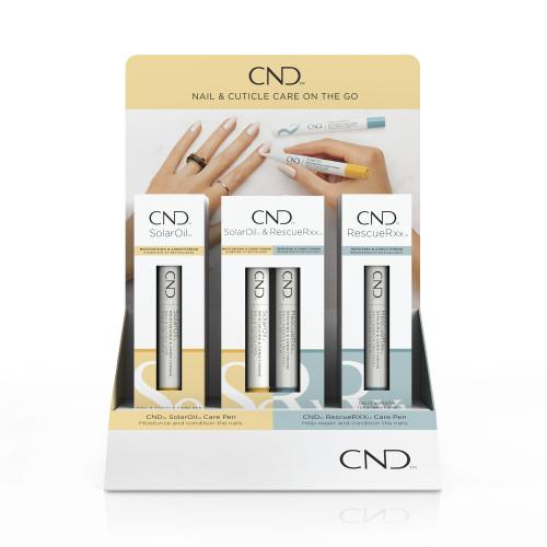 CND Essential Care Pens Pop Display