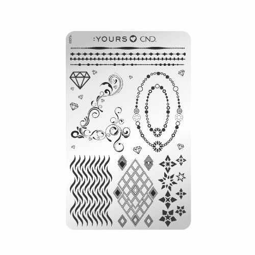CND 40th Anniversary Limited Edition Yours Stamping Plate