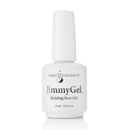 LE JimmyGel Soak-off Building Base, clear 15ml