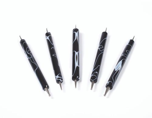 Nail Art Dotting Tools - Set of 5