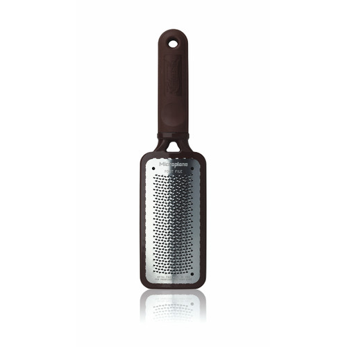Microplane Colossal Pedicure Rasp - Blissful Brown