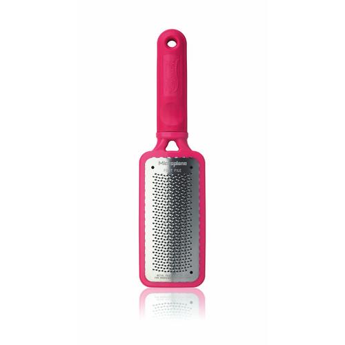 Microplane Colossal Pedicure Rasp - Passionate Pink