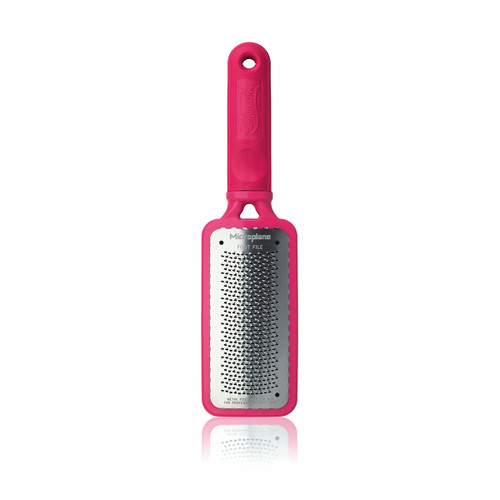 Microplane Colossal Pedicure Rasp - Passionate Pink