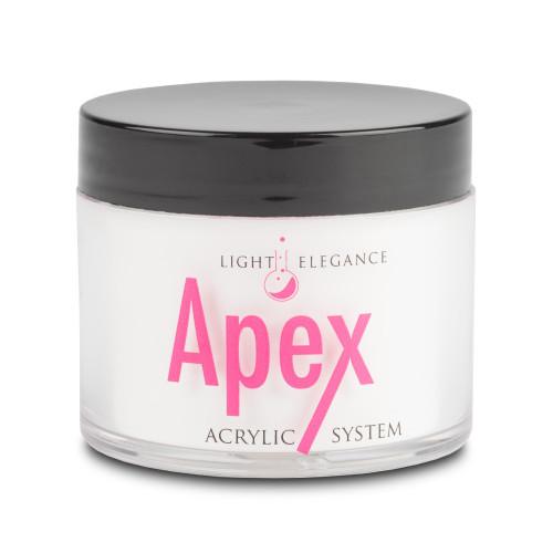 APEX Brilliant White Acrylic Powder, 45 grams