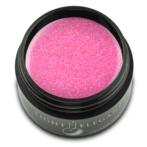 Bubble Gum Glitter Gel, 17ml
