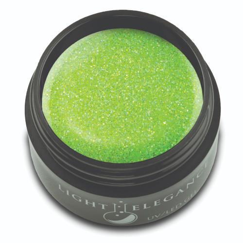 Electric Lime Glitter Gel, 17ml