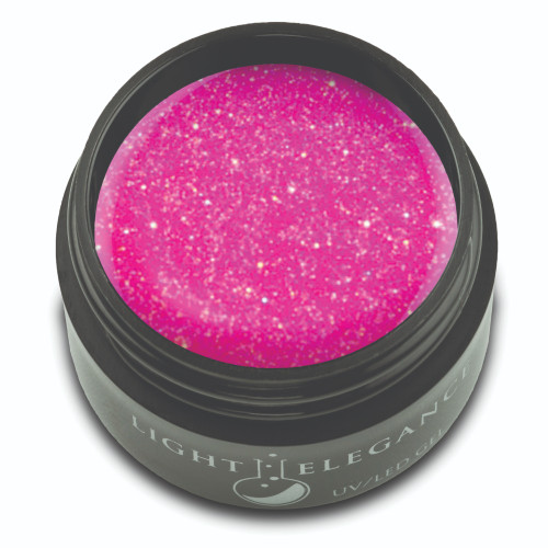 Hot Pink Glitter Gel, 17ml