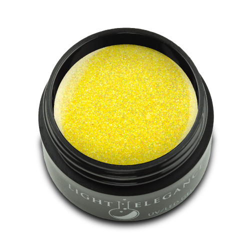 LE Lemon Burst Glitter Gel 17ml