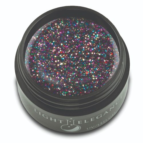 Licorice Glitter Gel, 17ml