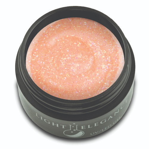 Peachy Glitter Gel, 17ml