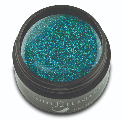 Peacock Glitter Gel, 17ml