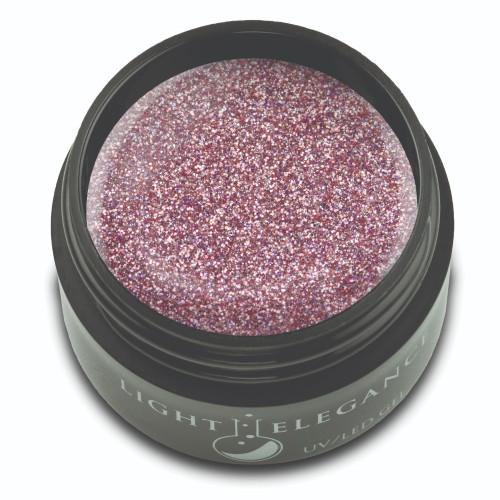 Pink Platinum Glitter Gel, 17ml