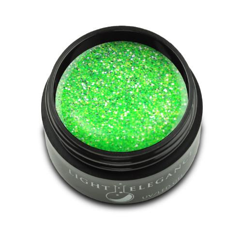 LE Kiwi to My Heart Glitter Gel 17ml