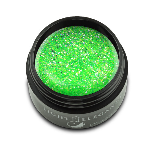 LE Kiwi to My Heart Glitter Gel 17ml