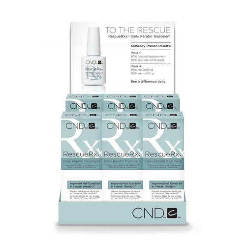 CND Essentials RescueRXX 6 PK (6 x 0.5 fl oz)