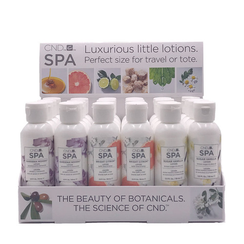 CND SPA 59ml Lotions POP Display